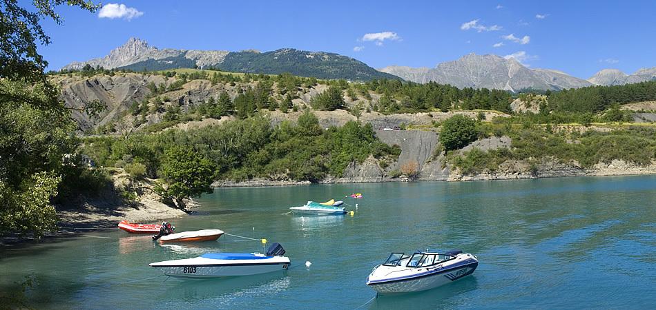 Lac de Serre Poncon